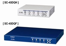"4ch Analog video splitter(Half rack/19""rack mount)"