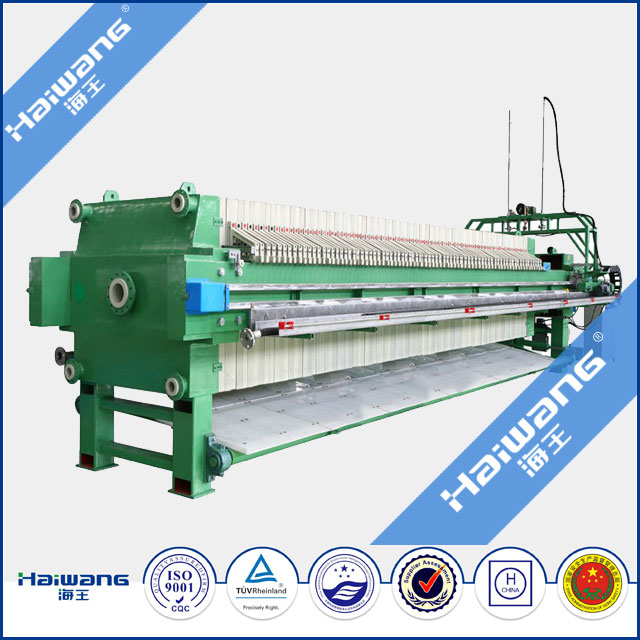 2016 Haiwang Plate And Frame Filter Press / Rotary Filter Press With High Quality