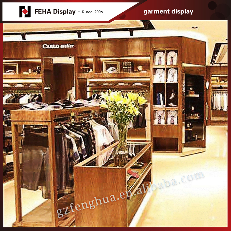 Man Clothes Shop Furniture For Clothing Store Display