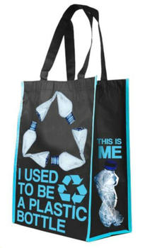 Rpet Bag Made From Recycled Plastic Bottles Pet Ping