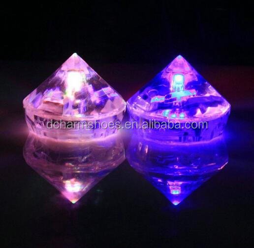 Drop ship Party Decorations LED Ice Cubes For Night Club Event
