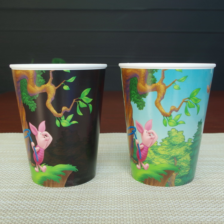 wholesale promotional gifts plastic cups sublimated magic mug