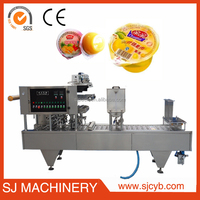 SJ company jelly cup filling sealing automatic packing machinery