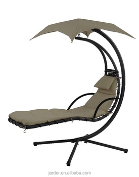 OEM helicopter canopy hanging swing chair outdoor garden high capacity weight
