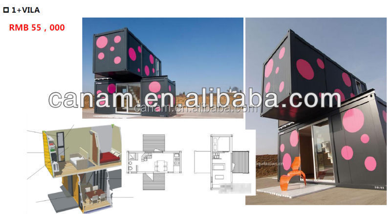 high quality low cost one floor prefabricated modular houses for sale