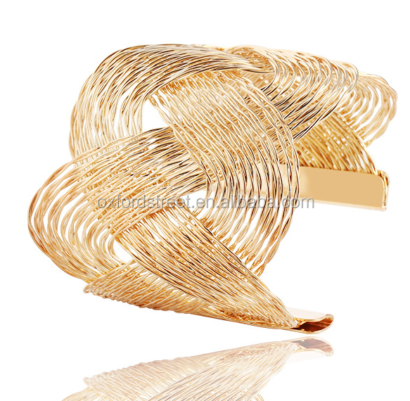 2016 Hotelling Fashion gold bangle Bracelet Set 2016