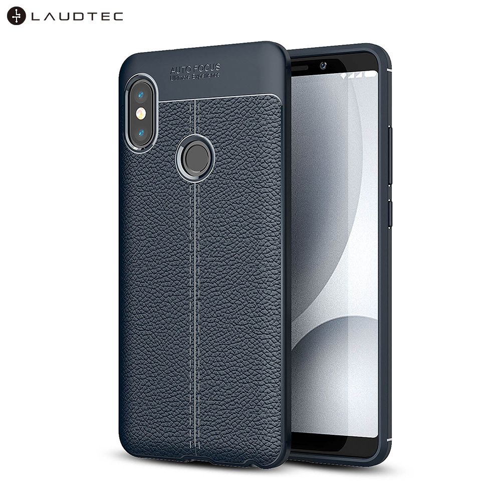Premium Litchi Leather Pattern TPU Back Cover <strong>Case</strong> For Redmi Note 5 Pro