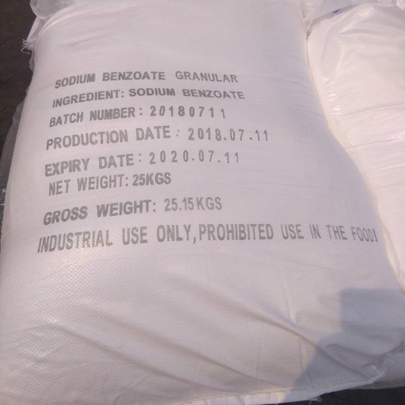 Industriale E di Grado Alimentare Acido Benzoico Prezzo
