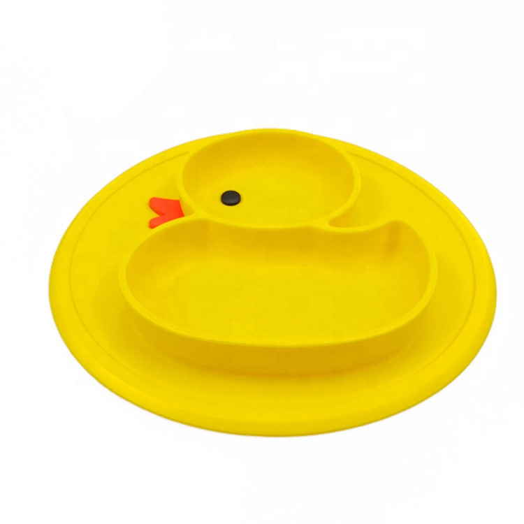 Hot Sale Baby Feeding Mat Kid Suction Placemat Tray Silicone Baby Placemat Plate Bowl фото