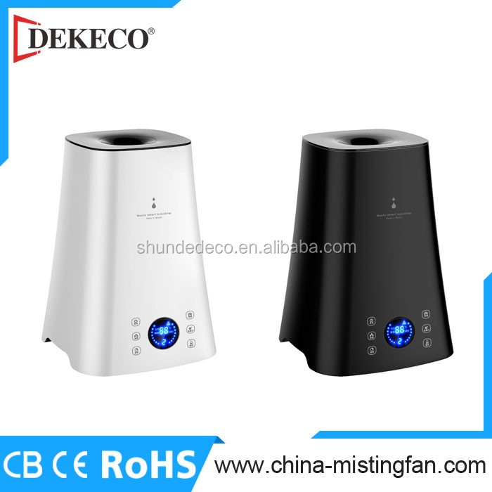 CE ion humidifier digital control air humidifier ultrasonic