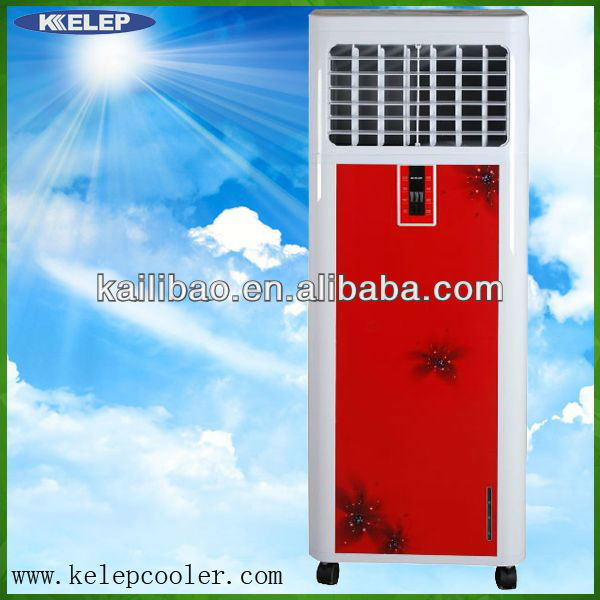 energy saving portable evaporative cooling system