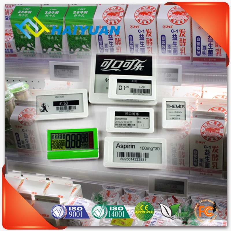 Digital epaper electronic shelf price label for retail