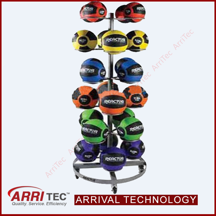 football basketball rug baloon ball sporting equipment display round metal rack sports ball display stand