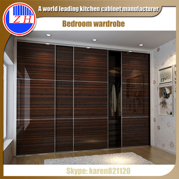 Wall Closet Systems Clothes Wardrobe Cabinet Design With Sliding Door For Furniture
