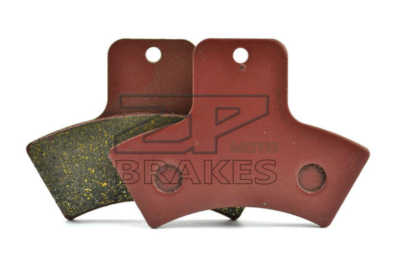 Motorcycle Organic Brake Pads For Rear POLARIS Xpedition 325 2000 Trail Blazer 330 2004 Diesel 455 1999-2000 New Free shipping
