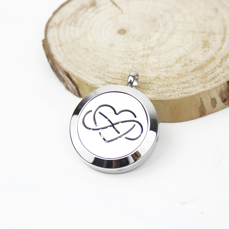 Aromatherapy Natural & Alternative Remedies Radient Essential Oil Diffuser Necklace Stainless Steel Aromatherapy Locket Pendant Skilful Manufacture