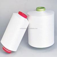 DTY 150/144 polyester yarn raw white semi-dull SIM AA yarn