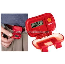 Digital sports stopwatch bulk pedometer and calorie counter made in china