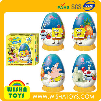 Super Style Oeuf Jouet Beau Dessin Animé 3d Puzzle Buy Product On Alibabacom
