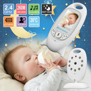 Built-in 8 lullabies 2.0inch TFT LCD screen Display Wireless Video Baby Monitor With Digital Camera night vision