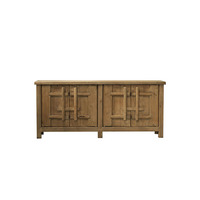 Antique Chinese vintage wood reproduction furniture recycle pine cabinet for wholesale