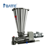 small output twin screw feeder for flour