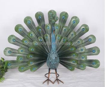 metal peacock garden decorationwhite peacock decorationspeacock christmas decorations - Peacock Christmas Decorations