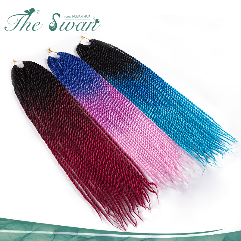 Swan Top Selling Products Havana Mambo Twist Crochet Braids Synthetic Hair Extensions Heat Resistant