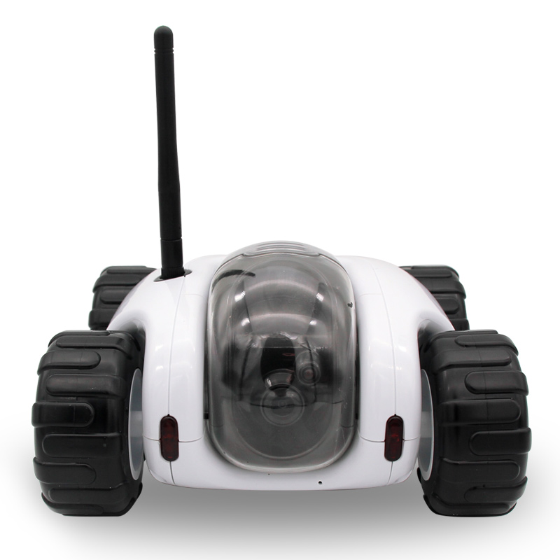 2016 Cloud Rover tank robot WiFi <strong>Internet</strong> P2P RC spy car ,night vision camera video toy car wireless network remote control