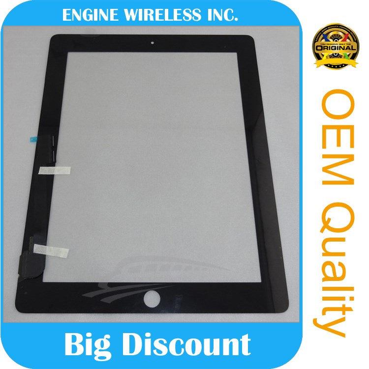 Process fine for ipad 4 glass+digitizer,china supplier,original