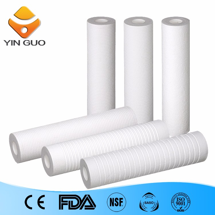 in various industries pleated filter cartridge 5 micron pp filter