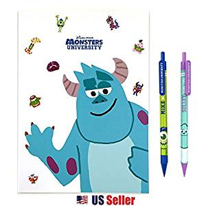 Disney Monsters University School Supply Stationary Gift Set : Mike & Sulley (SULLEY)
