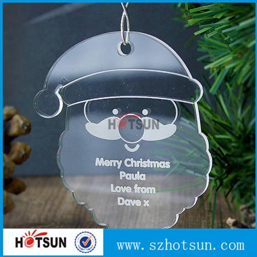 Cheap Christmas Decoration Plastic Acrylic Plexiglass