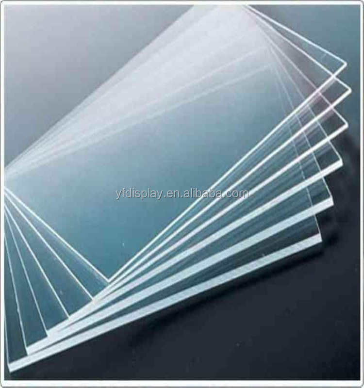 Rectangle Acrylic Clear Board