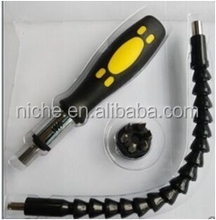 Snake Bit Flexible Drill bit extender set