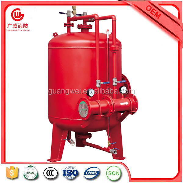 Fire fighting PHYM bladder foam tank