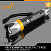 Aluminum Zoomable 800 lumen 7 W rechargeable tactical led flashlight tactical flashlight