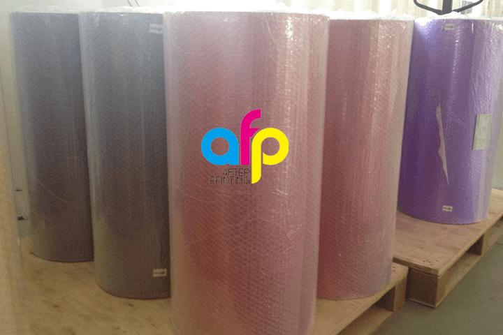 Corona Behandeld Printable Gemetalliseerde Aluminium PET Film/Spiegel Metallic Polyester Film Roll Thermische Lamineren