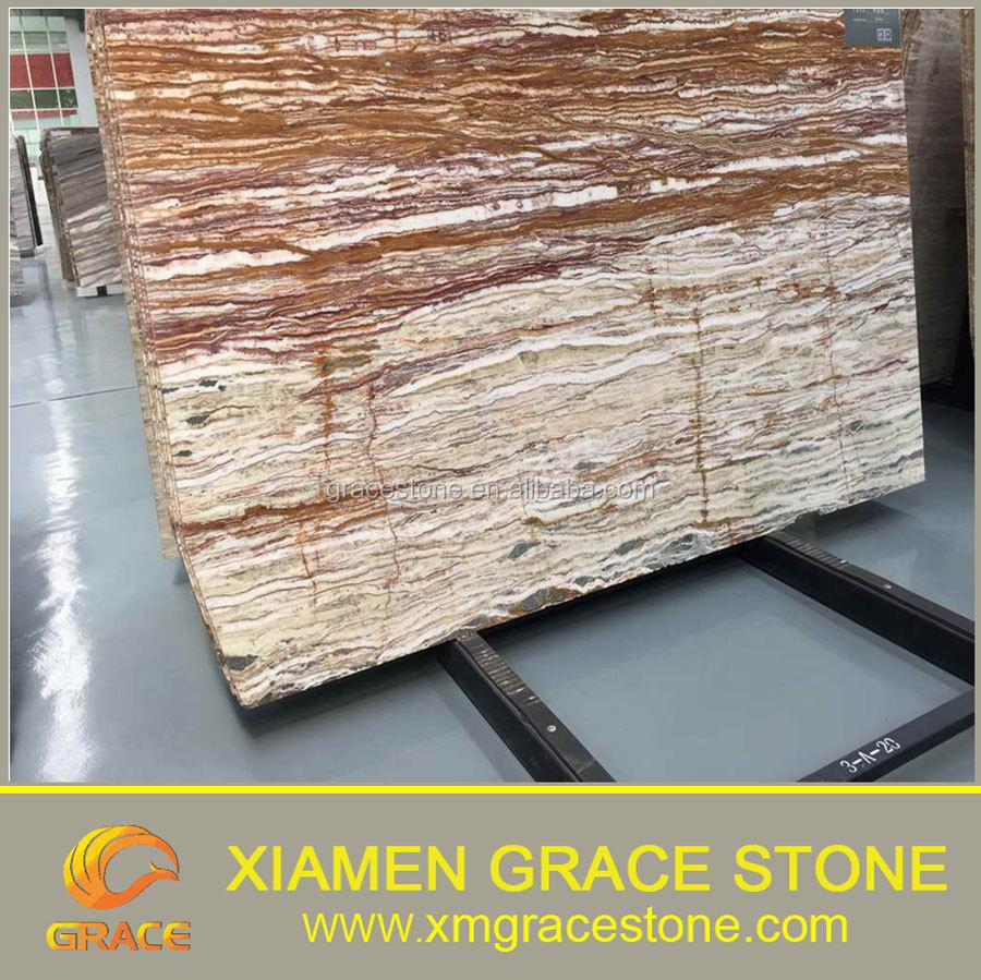 Precio barato red onyx azulejos de piedra losa de m rmol for Piedra de marmol precio
