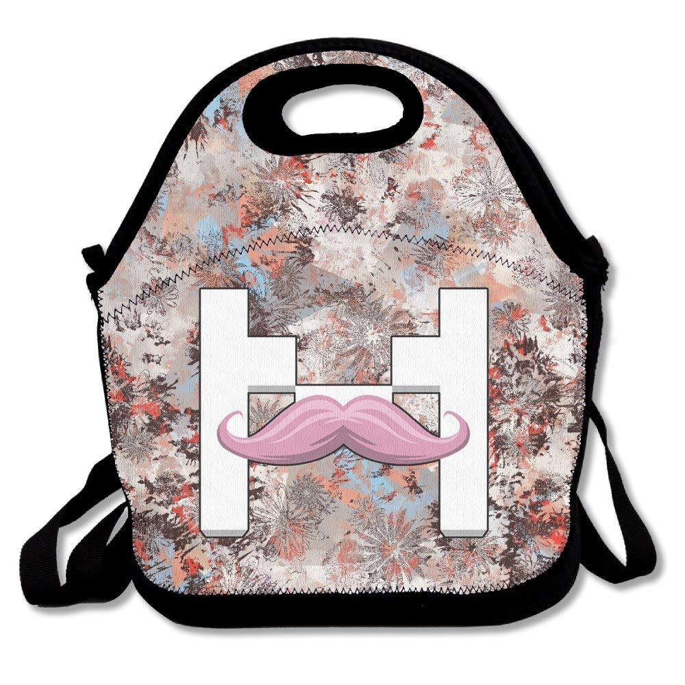Reusable Markiplier Warfstache Crossbody Office Lunch Bag