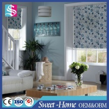 Factory price high quality roman blind curtain design cheap printed sun shade blind