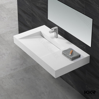 Modern Bathroom Sink Commercial Hand