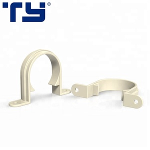 Best Sale Tube Fittings Promotional Plastic Clamp PVC Pipe Clip