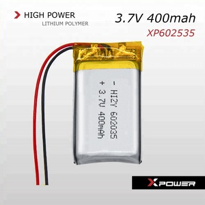 3.7V 450mah lipo battery for data collector, pet GPS tracker