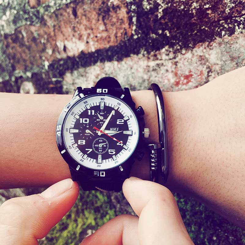Retro canvas sport watches compass outdoor casual men and women quartz watches