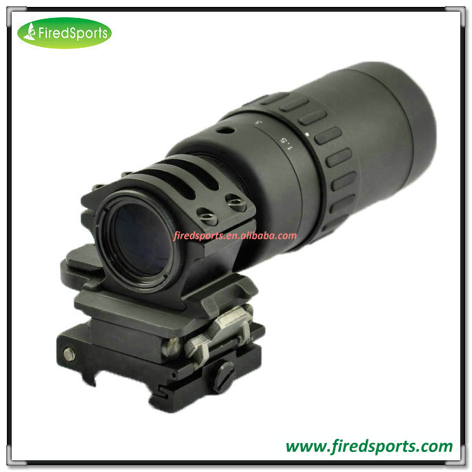 GSP0321--Hot Sell High Quality QD FTS 1.5-5X Magnifier Scope