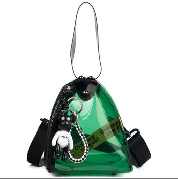 Triangle Coin Purse Clear Plastic Handbag Shoulder Bag 2018 New Style