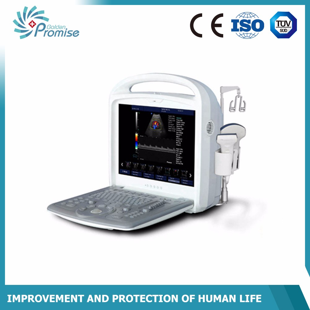 Cardiac color doppler portable ultrasound