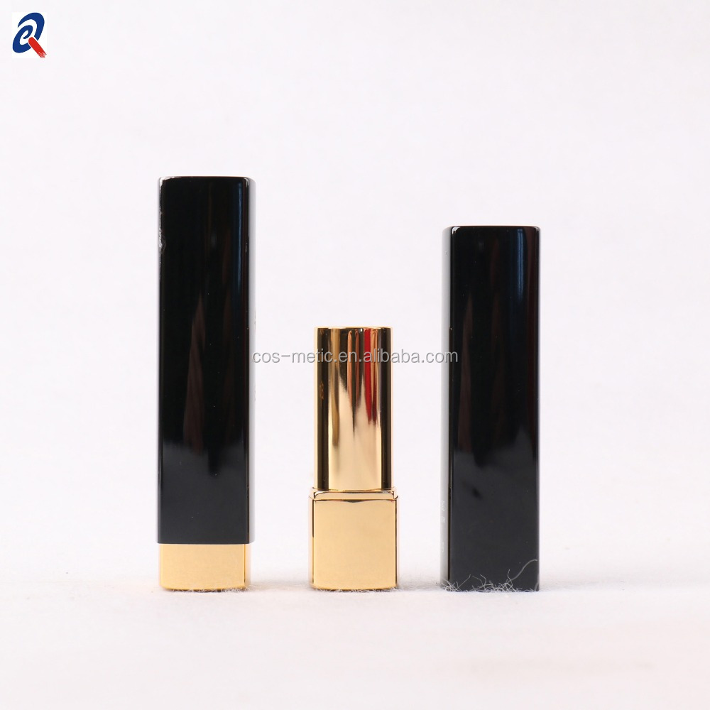 Push up close aluminum empty lipstick case