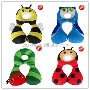 Free Sample Wholesale Factory Travel Childrens Kids Baby Foam neck pillow washable cushion